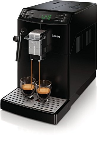 Saeco Minuto Super-automatic espresso machine HD8775/48 (Black) (Certified Refurbished)