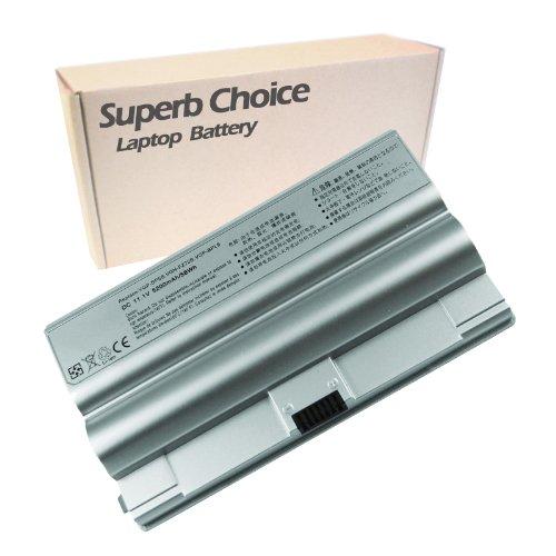 Superb Choice Battery Compatible with Sony Vaio FZ Series, PN: VGP-BPL8 VGP-BPS8 VGP-BPL8A VGP-BPS8A VGP-BPS8B