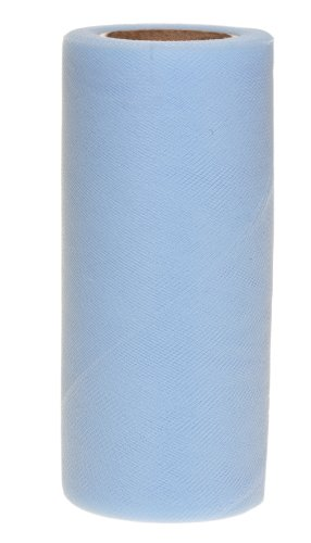 tulle fabric blue - 5