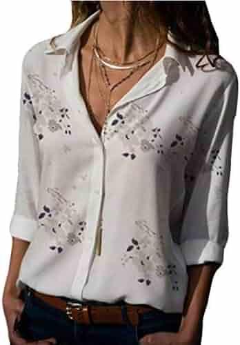 a2917334b4d38c Suiting & Blazers iZHH Womens Shirt Fashion V-Neck Button Down Knitwear Long  Sleeve Knit Sweater ...