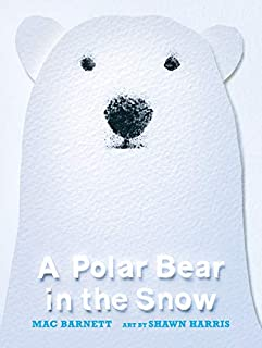 Book Cover: A Polar Bear in the Snow