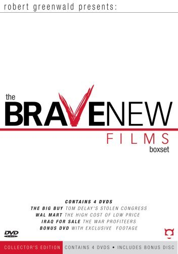 Robert Greenwald Presents - The Brave New Films Box Set by Disinformation