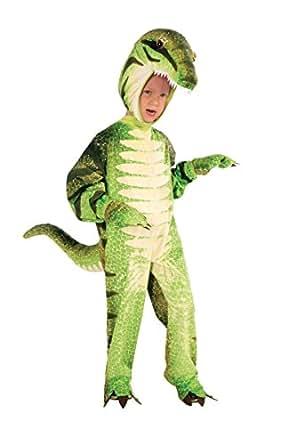 Amazon Com Plush Green T Rex Dinosaur Costume Child