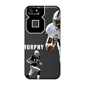 Sanp On Case Cover Protector For Iphone 5/5s (oakland Raiders)