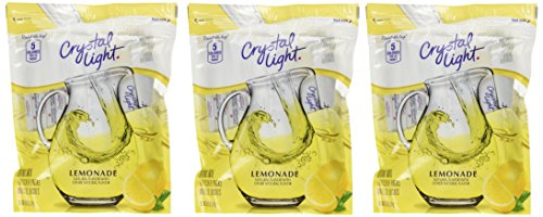 Crystal Light Lemonade Drink Mix - 8.6 oz - 16 ct - 3 pk (Best Lemonade In Los Angeles)