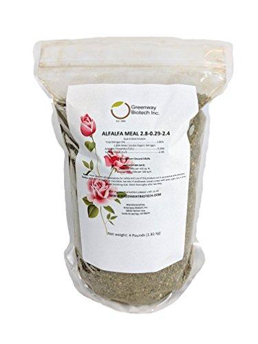 Alfalfa Meal 2.80-0.29-2.40 Organic