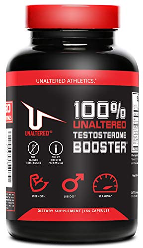 Testosterone Booster for Men Muscle Growth - Best Test Booster with Estrogen Blocker - Includes Horny Goat Weed & Fenugreek to Last Longer & Harder - Build Muscle - Burn Fat - Enhance Libido (Best Testosterone Booster On The Market For Libido)