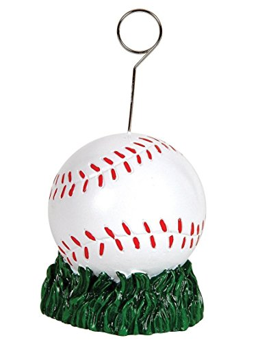 Beistle Baseball Photo/Balloon -