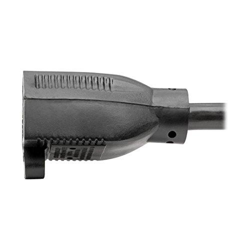 Tripp Lite Heavy-Duty Power Extension Cord 15A, 14AWG (NEMA 5-15P to NEMA 5-15R) 6-ft.(P024-006) by Tripp Lite (Image #6)