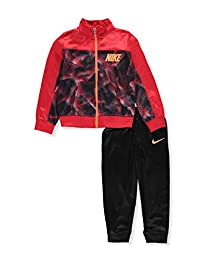 Nike Boys' 2-Piece Tracksuit - black/red, 4t