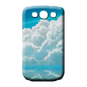 samsung galaxy s3 case Hard For phone Cases phone case cover sky blue air white cloud