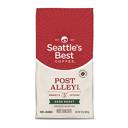 Seattles Best Blend Coffee (Seattle's Best Coffee Signature Blend No. 5 Dark Roast Whole Bean Coffee, 12-Ounce Bag)
