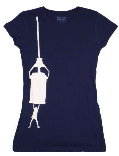 Doctor Who TARDIS Hang On Juniors T-Shirt