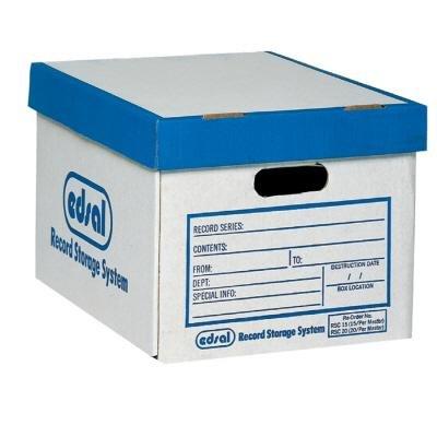 Record Storage Box Set, 10x12x15, PK20