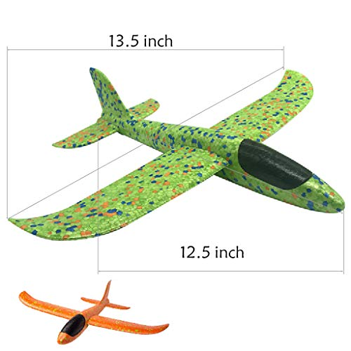 LOFEE Airplane Model Material for Boy,Light Model Plane Multi-Color Manual for 7.8.9 Year Old Toddler,Creative Gifts for Boy Girl Birthday Christmas Children's Day by LOFEE (Image #2)