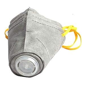 JSMeet Máscara protectora para perros, Hocico para mascotas 3 piezas Máscaras ajustables respirables contra niebla/humo de segunda mano PM2.5, cubierta de la máscara del protector bucal para cachorros 4