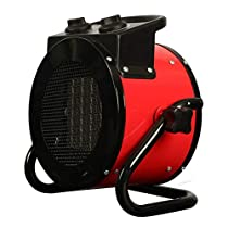 Electric Forced Air Heater Heaters Temperature-controlled Constant Temperature Household Hot Air Blowers 2 KW (Color : A)