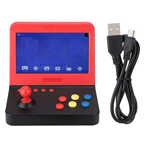 (Zopsc 7 Inch Retro Game Console LCD Screen Handheld Claissic Game Machine with Joystick TV Output Support 3.5mm Headphone)