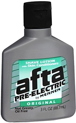 Afta Shave After - Afta Pre-Electric Shave Lotion With Skin Conditioners Original 3 oz (Pack of 3)