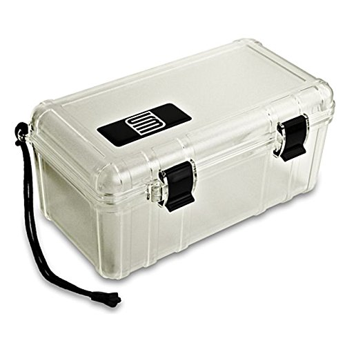 S3 T3500 Dry Protective Gun Case, Frosted Clear T3500.1