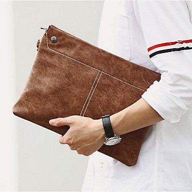 ZYT Männer Outdoor PU HandBag Büro Business Bag