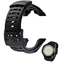 VESNIBA Luxury Rubber Watch Replacement Band Strap For Suunto Ambit 3 Peak / Ambit 2