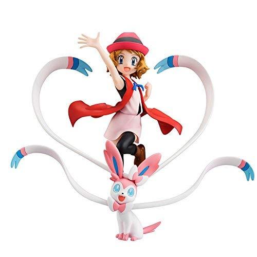 Megahouse Pokemon: Serena & Sylveon GEM PVC Figure