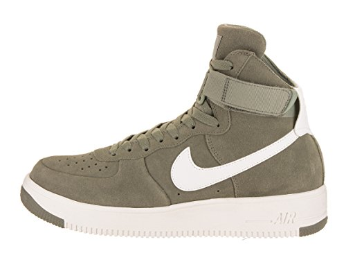 Nike Mens Air Force 1 Ultraforce Hi Basket Sko Mörk Stuckatur / Summit Vit