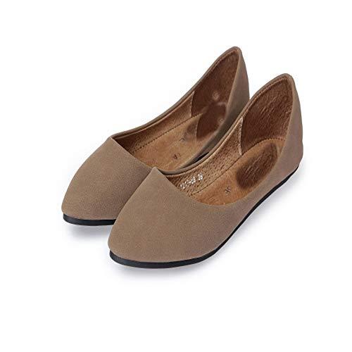 De Chaussures Chaussures Talon Chaussures Femme Automne Femme Plat Printemps Femme À Casual LIANGHUA Bateau Mocassins Mocassins FqnwCF5