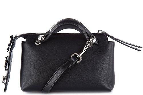 Fendi sac à main femme en cuir by the way mini noir