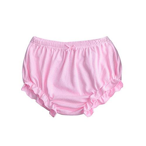 Ropa interior de entrenamiento para niñas pequeñas, de suave algodón, paquete de 4 Color B Talla:90cm (0-1Y): Amazon.es: Bebé