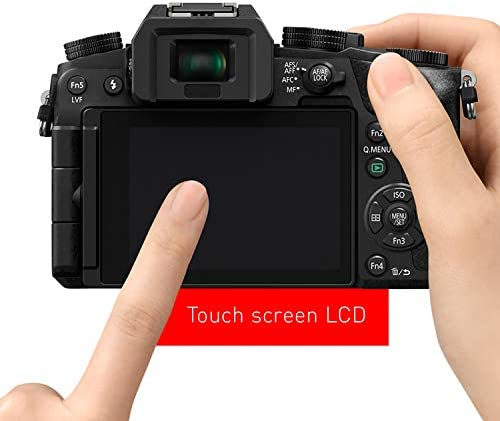 Panasonic Lumix G7KS 4K Mirrorless Camera, 16 Megapixel Digital Camera, 14-42 mm Lens Kit, DMC-G7KS 415ObUWe3JL