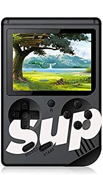 DIOLTY SUP 400 in 1 Games Retro Game Box Console Handheld Game PAD Gamebox- Black Colour