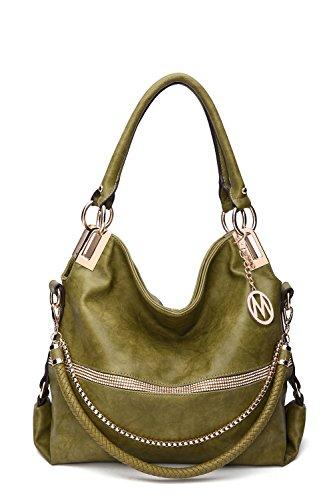 2 IN 1 Women's Twister Large New Designer Handbags Crossbody Shoulder Bag (Large Hobo Handbag Purse)