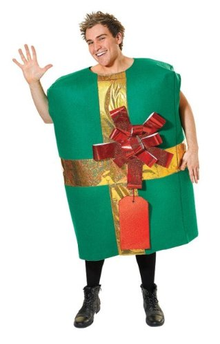 Christmas Gift Box Unisex Fancy Dress Costume - One Size