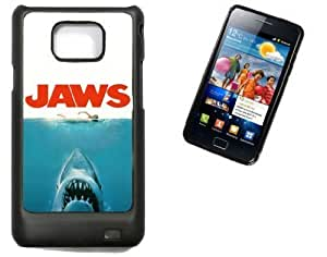 Samsung Galaxy S2 i9100 Hard Case with Printed Design JAWS