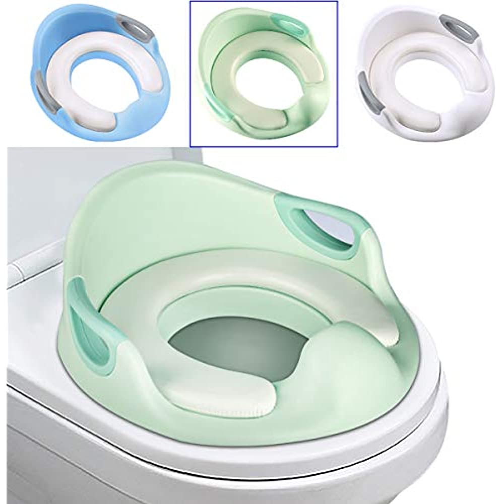 Splash Guard For Toilet Seat.Details About Potty Step Stools Toilet Seat For Toddlers Trainer Ring Splash Guard Handles