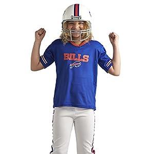 Franklin Sports NFL Buffalo Bills Deluxe Youth Uniform Set, Medium