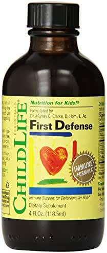 ChildLife Essentials First Defense for Infants, Babys, Kids, Toddlers, Children, and Teens, 4-Ounce