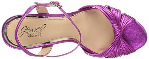 Badgley Mischka Women's Lady Heeled Sandal Fuchsia FRfv5Lyu