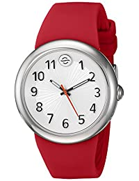 Philip Stein Unisex F36S-SW-R Colors Analog Display Japanese Quartz Red Watch