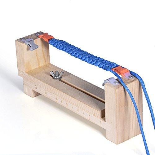 36 opinioni per Knüpfhilfe per Paracord Corde per la produzione di braccialetti / collane e