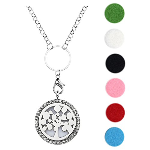 jovivi-silver-tone-aromatherapy-essential-oil-diffuser-necklace-round-crystal-diffuser-locket-pendan