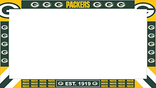 Imperial Officially Licensed NFL Merchandise: Big Game Monitor Frame, Green Bay Packers - Bay Room Green Packers Custom