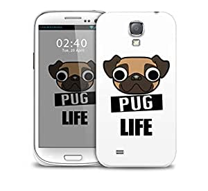 pug life Samsung Galaxy S4 GS4 protective phone case