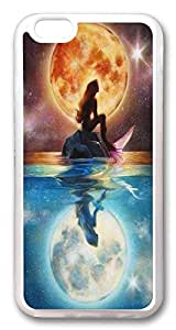 iPhone 6 Case,VUTTOO The Little Mermaid Ariel TPU Rubber Soft Case Back Cover for iPhone 6 4.7inch¡§CTransparent