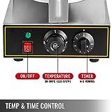 Happybuy 110V Commercial Ice Cream Cone Maker 1200W