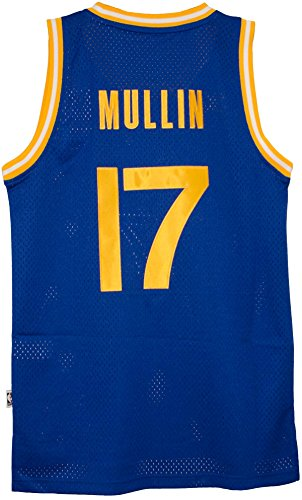 Chris Mullins Golden State Warriors Adidas NBA Throwback Swingman Jersey - Blue