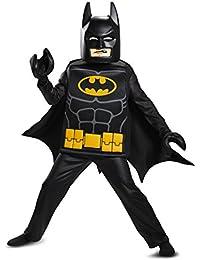 Disguise Batman Lego Movie Deluxe Costume, Black, Small (4-6)