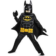 Batman LEGO Movie Deluxe Costume, Black, Medium (7-8)